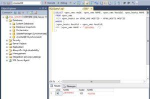 SQL_VMWare