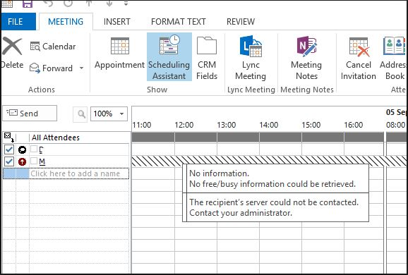 Office 365 to Exchange 2010 on prem calendar free/busy
