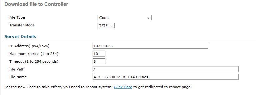 Cisco Wireless Lan Controller Update with Pre-Download | Tech Blog